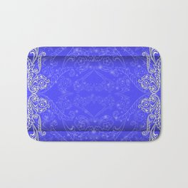 Abstract floral ornament background Bath Mat