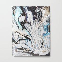 Fluid V.1 Metal Print