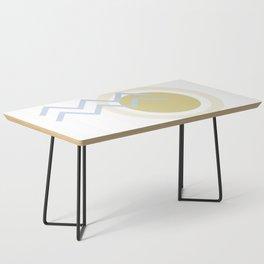 Abstract Sun Stream Coffee Table
