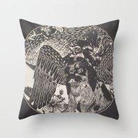 mythology Throw Pillows featuring mythology by Liss527