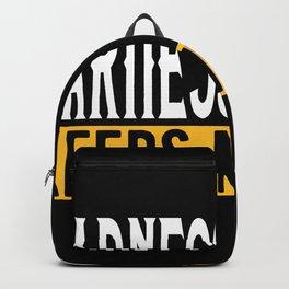 Harness Racing Lovers Gift Idea Design Motif Backpack