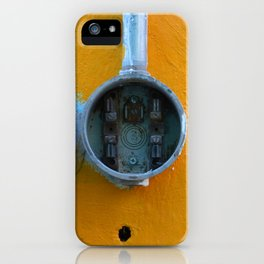 Mexican Yellow Nr.3 iPhone Case