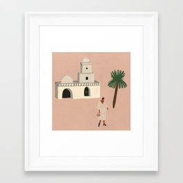 Lonely in Marrakech Framed Art Print