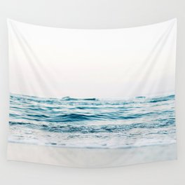 Sea water blue 8 Wall Tapestry