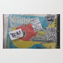 Newspaper box Freemont Seattle Rug