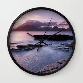 Elgol Beach IV Wall Clock