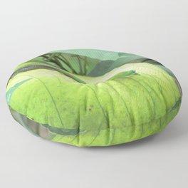 Blending In Floor Pillow