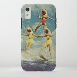 On Evil Beach - Sharks iPhone Case
