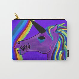 Sad Unicorn Carry-All Pouch
