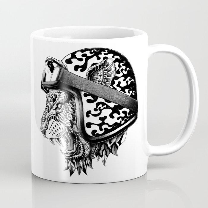 Tiger Helm Coffee Mug