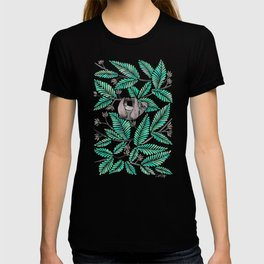 Happy Sloth – Tropical Mint Rainforest T-shirt