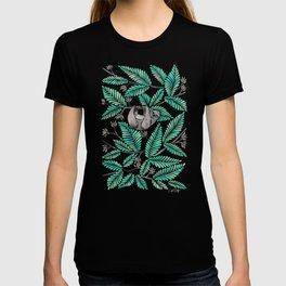 Happy Sloth – Tropical Mint Rainforest T-shirt