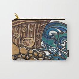 Waters Edge muted Tone Carry-All Pouch
