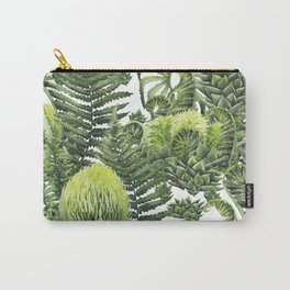 Watercolor prehistoric plants Carry-All Pouch