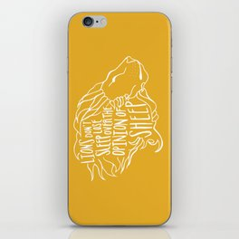 Lions don't lose sleep iPhone Skin