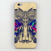 phoenix iPhone & iPod Skins featuring PHOENIX by Galvanise The Dog