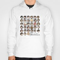 robert downey jr Hoodies featuring Robert Downey Jr. by Lady Cibia