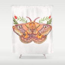 Hawk Moth Shower Curtain