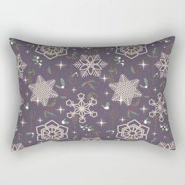Xmas In The City Rectangular Pillow