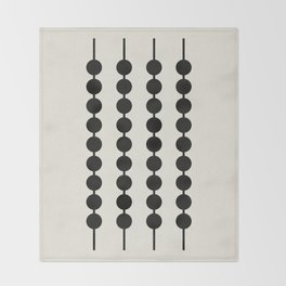 Abacus Throw Blanket