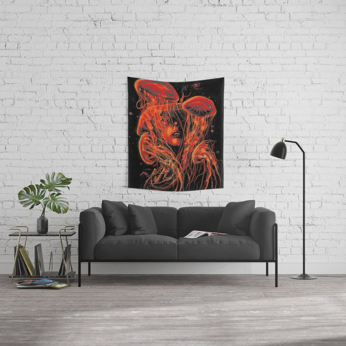 A Beautiful Delusion Wall Tapestry