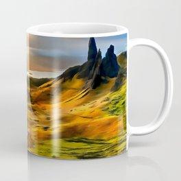 Old Man of storr (Painting) Coffee Mug