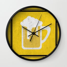 Beer sign Wall Clock