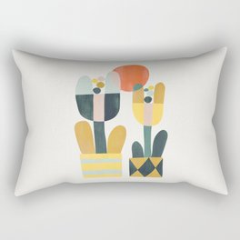 Two flowers Rectangular Pillow