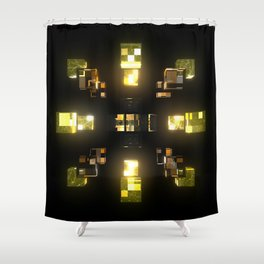 My Cubed Mind: Frame 100 Shower Curtain