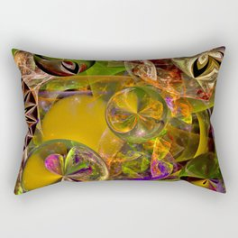 Of Diatoms and Parallel Universes Rectangular Pillow