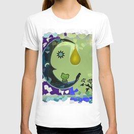 Sun, Moon and Earth T-shirt