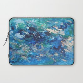 A Boat's Wake Laptop Sleeve