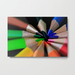 Color Box Metal Print