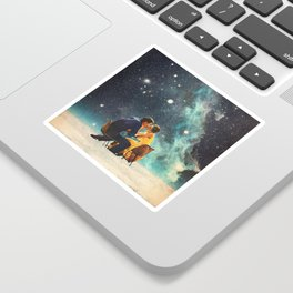I'll Take you to the Stars for a second Date Sticker