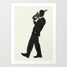 Just another day at the office Art Print