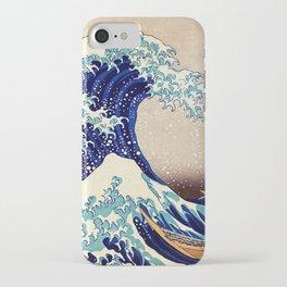 Katsushika Hokusai The Great Wave Off Kanagawa iPhone Case