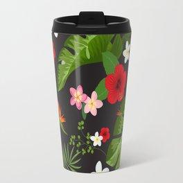 Tropical Flower Background XV Travel Mug