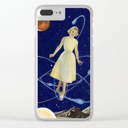 In Orbit Clear iPhone Case