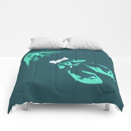 Cyan Kraken Comforters