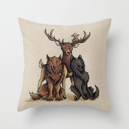The Marauders Throw Pillow