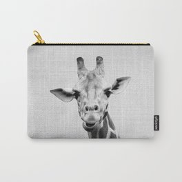 Giraffe 2 - Black & White Carry-All Pouch