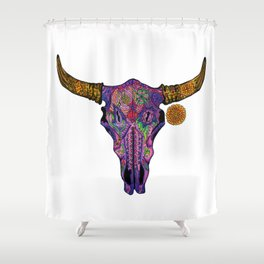 Charlie Road Shower Curtain