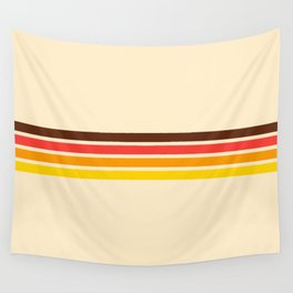 African Retro Stripes Wall Tapestry