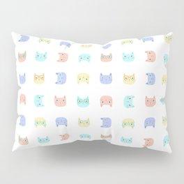 Cats Wearing Glasses Pillow Sham