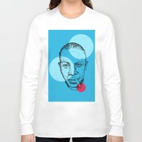 allyson johnson Long Sleeve T-shirts featuring Robert Johnson by mr.defeo