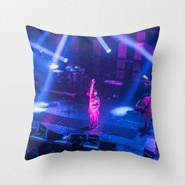 Gary Numan Live AT 02 Brixton Throw Pillow