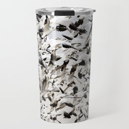 Snow Goose Blizzard Travel Mug