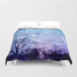 Midnight Duvet Cover