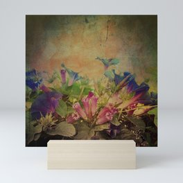 Flowers have music for those who will listen Mini Art Print