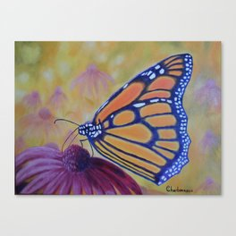 King of butterfly | Le roi des papillons Canvas Print